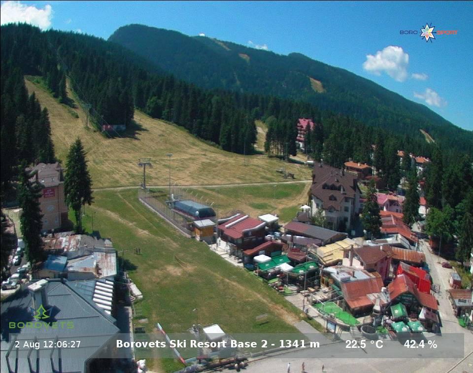 14 day forecast borovets bulgaria webcam