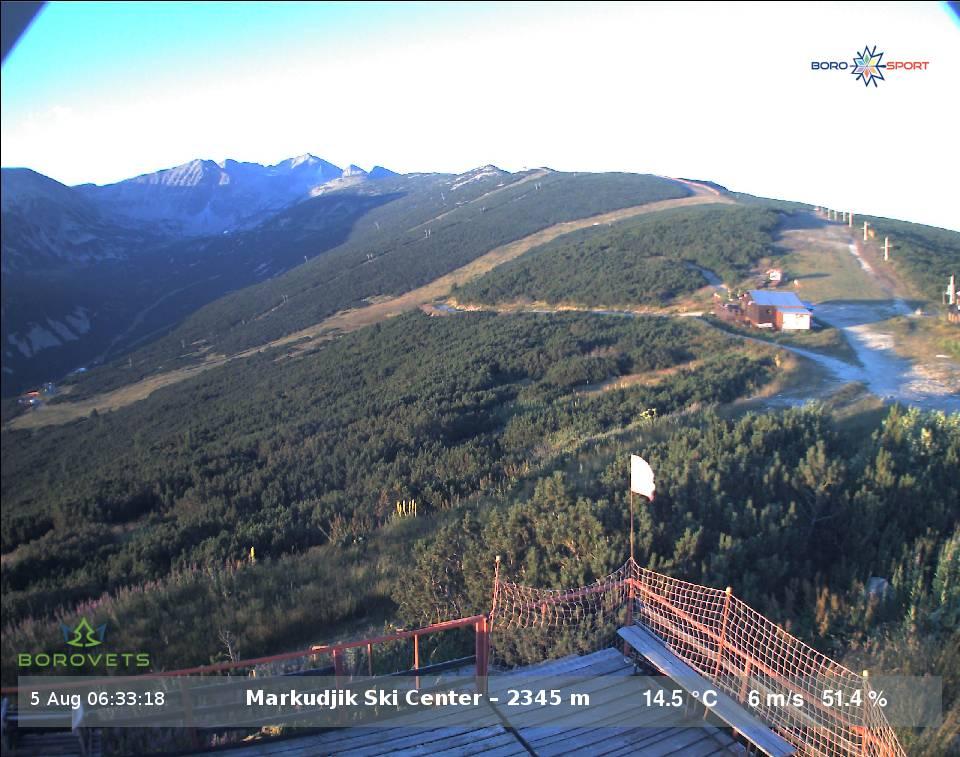 курорта Боровец - времето чрез уеб камера